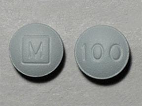 morphine ER 100 mg tablet,extended release