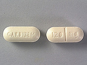 diltiazem 120 mg tablet