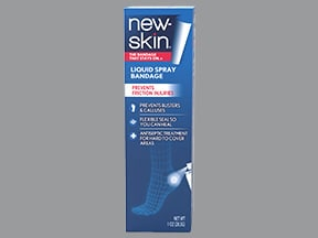 New Skin (benzethonium) 0.2 % topical spray