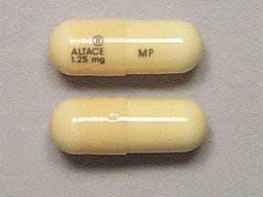 Altace 1.25 mg capsule