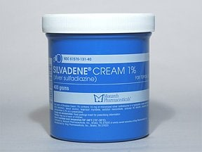 Silvadene 1 % topical cream