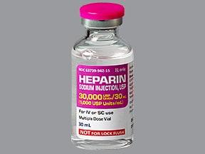 ヘパリン(ブタ)注射:使用、副作用、相互作用...