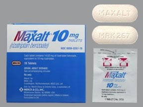 Maxalt 10 mg tablet