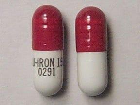 Nu-Iron 150 mg iron capsule