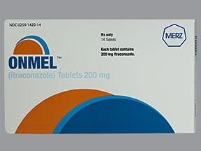 Onmel 200 mg tablet