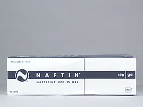 Naftin 1 % topical gel