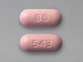 Zocor 80 mg tablet