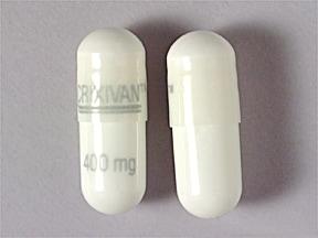 Crixivan 400 mg capsule