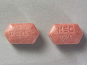 Vaseretic 10 mg-25 mg tablet