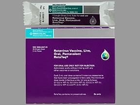 RotaTeq Vaccine 2 mL oral solution