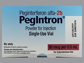 PegIntron 50 mcg/0.5 mL subcutaneous kit