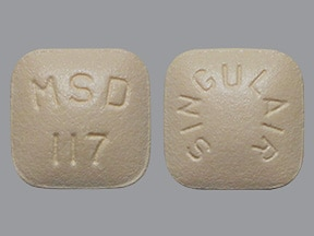 Singulair 10 mg tablet