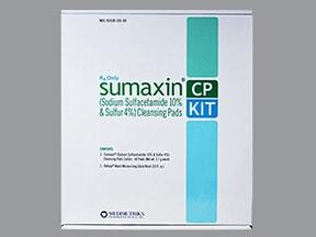 Sumaxin CP 10 %-4 % topical kit