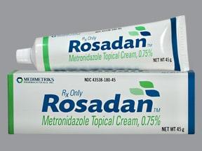 Rosadan 0.75 % topical cream