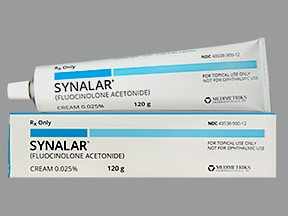 Synalar 0.025 % topical cream