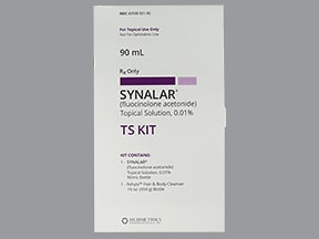 Synalar TS 0.01 % topical kit