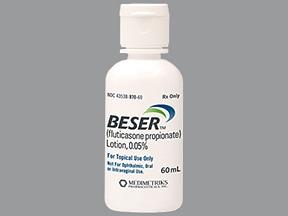 Beser 0.05 % lotion