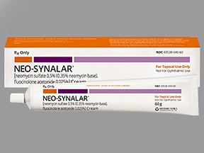 Neo-Synalar 0.5 % (0.35 % base)-0.025 % topical cream