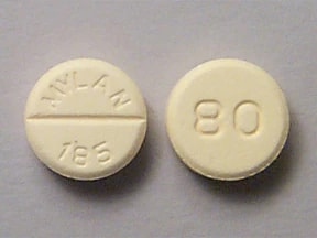propranolol 80 mg tablet