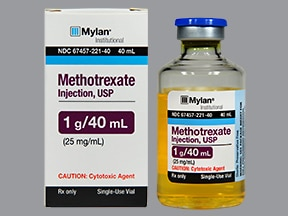 Methotrexate Injection Vs Pills