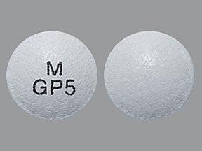 glipizide ER 5 mg tablet, extended release 24 hr