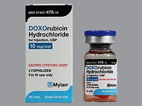 doxorubicin 10 mg intravenous solution