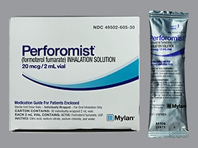 Perforomist 20 mcg/2 mL solution for nebulization