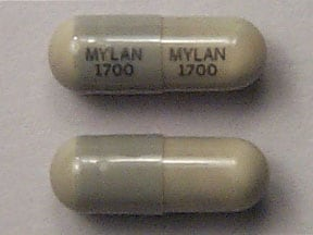 nitrofurantoin macrocrystal 100 mg capsule