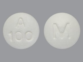 acarbose 100 mg tablet