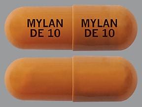 dexmethylphenidate ER 10 mg capsule,extended release biphasic50-50