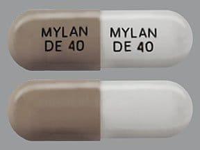 dexmethylphenidate ER 40 mg capsule,extended release biphasic50-50