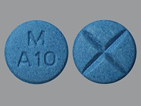 dextroamphetamine-amphetamine 10 mg tablet