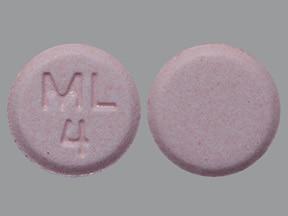 montelukast 4 mg chewable tablet