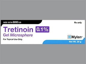 tretinoin microspheres 0.1 % topical gel