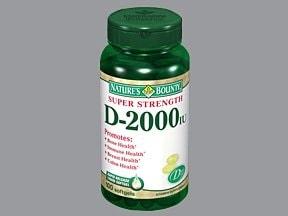 D3-2000 50 mcg (2,000 unit) capsule