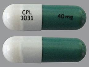 Gleostine 40 mg capsule