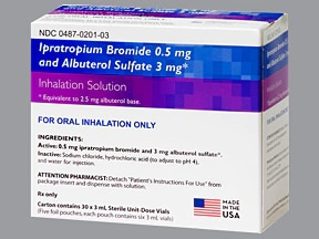 Ipratropium-Albuterol Inhalation : Uses, Side Effects