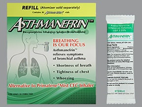 Asthmanefrin Refill 2.25 % solution for nebulization