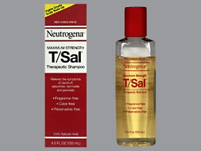 Neutrogena T/Sal 3 % shampoo