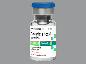arsenic trioxide 1 mg/mL intravenous solution