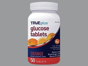 TRUEplus Glucose 4 gram chewable tablet