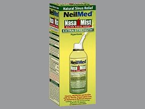 NasaMist 2.7 % nasal spray aerosol