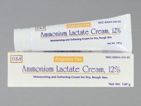ammonium lactate 12 % topical cream