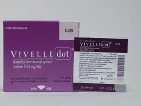 Vivelle-Dot 0.05 mg/24 hr transdermal patch