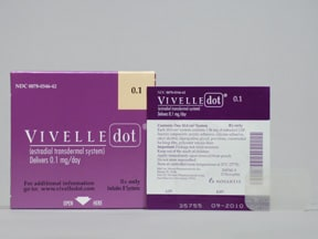 Vivelle-Dot 0.1 mg/24 hr transdermal patch