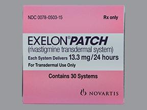 Exelon Patch 13.3 mg/24 hour transdermal