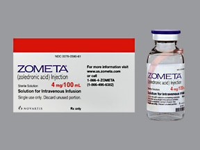 Zometa 4 mg/100 mL intravenous piggyback