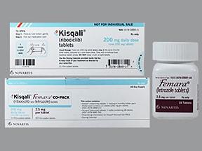 Kisqali Femara Co-Pack 200 mg/day(200 mg x 1)-2.5 mg tablet