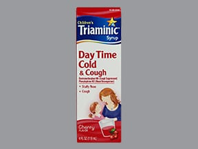 Triaminic Cold And Cough Pe Oral Uses Side Effects