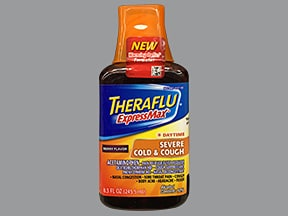 Theraflu ExpressMax Cold-Cough Day 5 mg-10 mg-325 mg/15 mL oral liquid